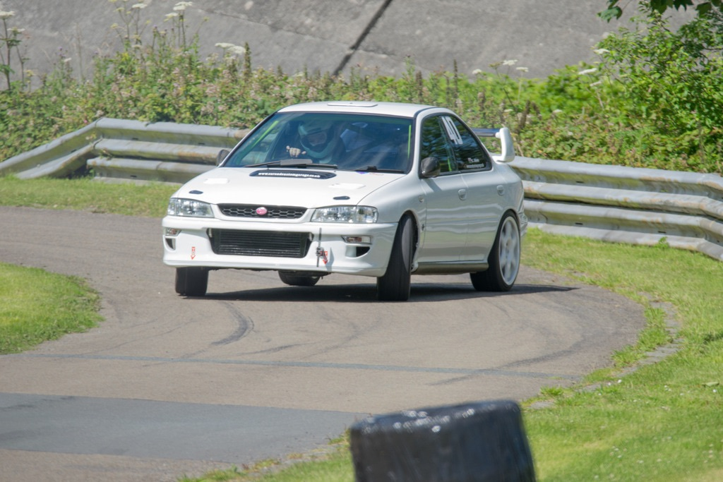 Impreza finishes 1st in class with driver of the day!