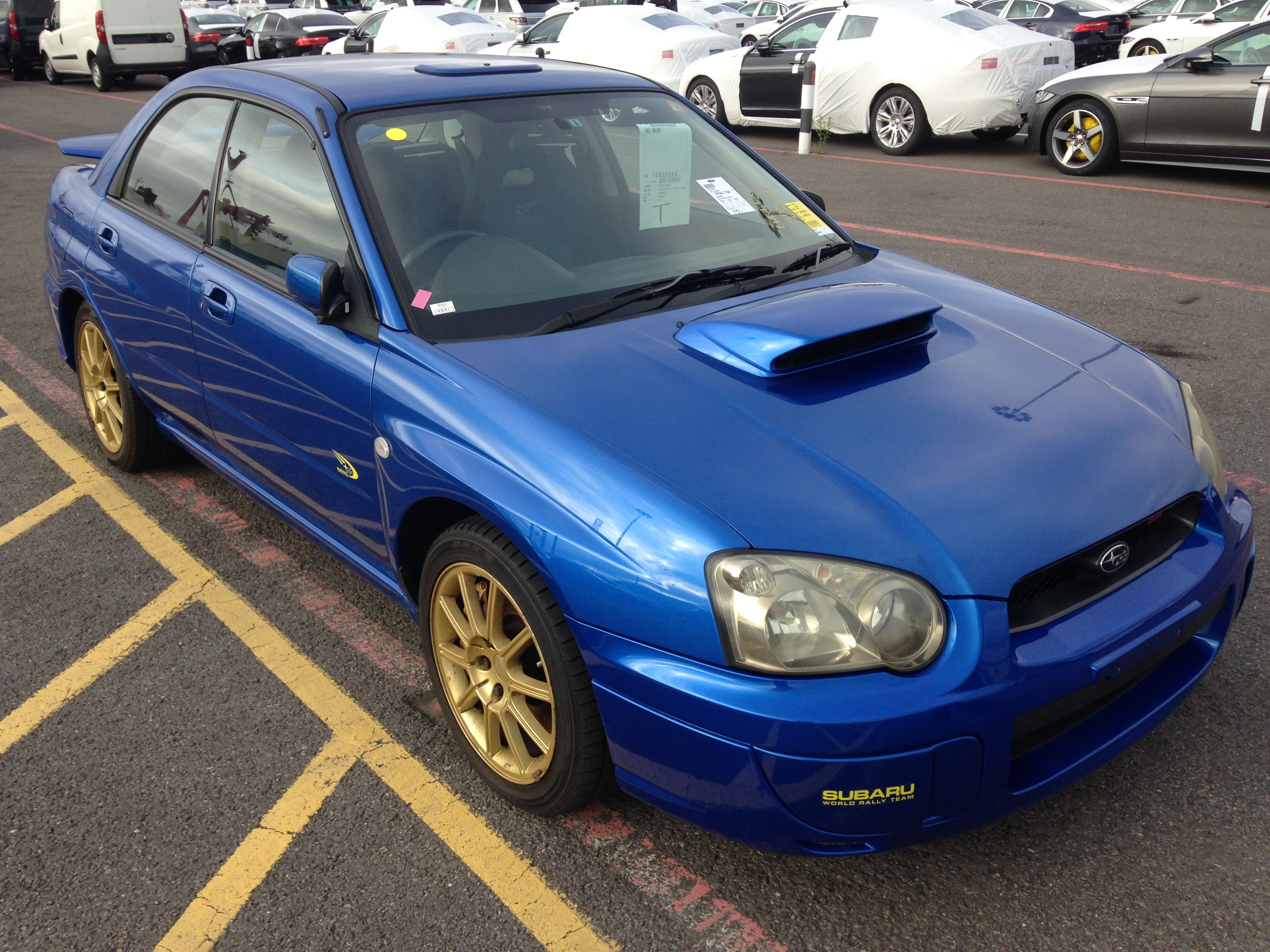 Subaru Impreza Sti Spec C WR Limited – For Sale