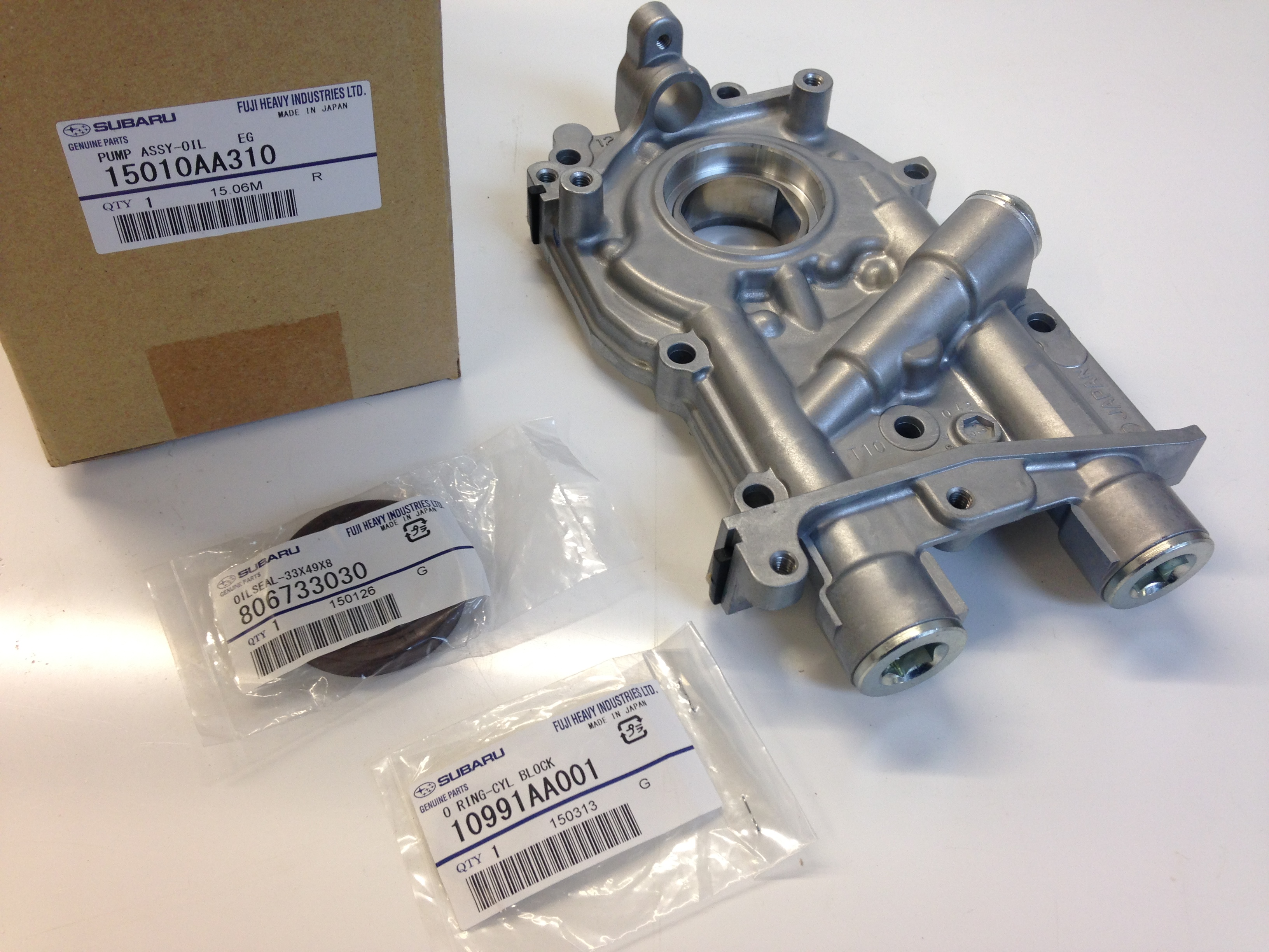 Genuine Subaru parts in stock