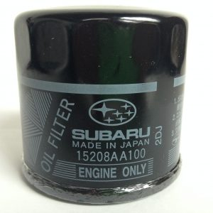 Genuine Subaru 'Black' Oil filter 15208AA100