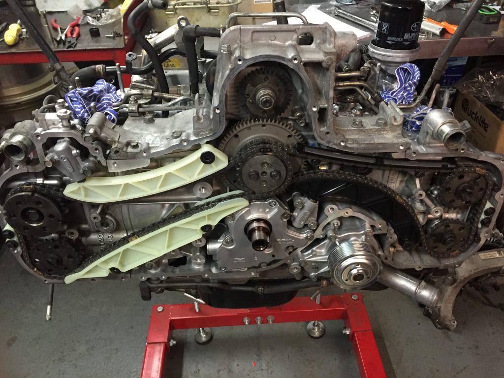 Subaru engine rebuild EE20, EZ30, EZ36, FA20