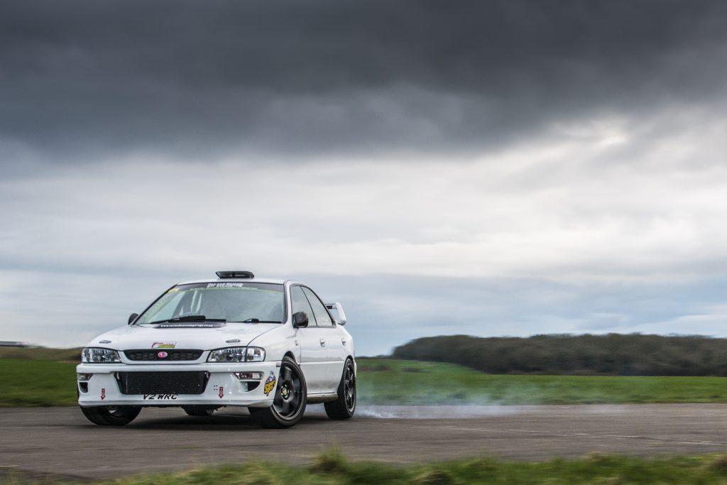 Subaru race rally track day Sprint car Sti Type Ra Wrx drift Impreza Spec C Competition Group N
