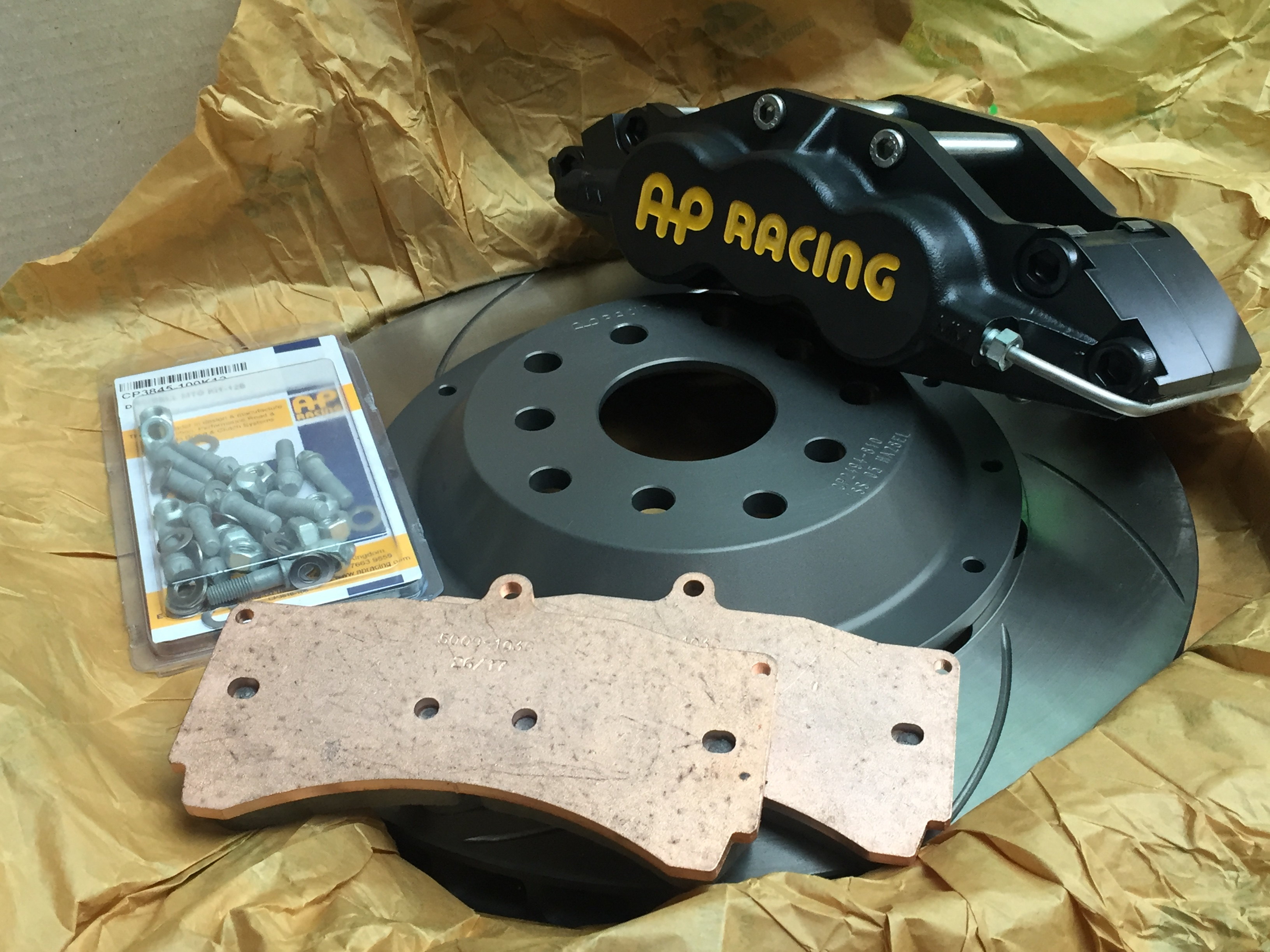 AP Racing Brake upgrade kits