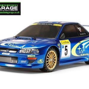 subaru Impreza Monte-Carlo '99 (TT-02 Chassis) Item No: 58631