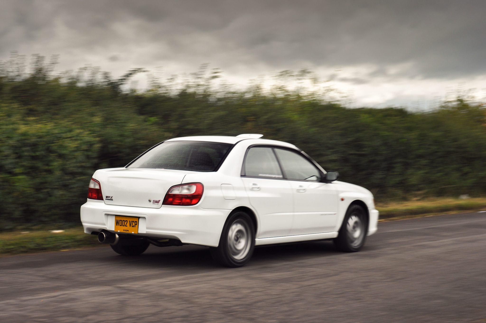 Image of Car and Custom Garage 2002 Subaru Impreza Wrx Sti Type RA Spec C 16 inch