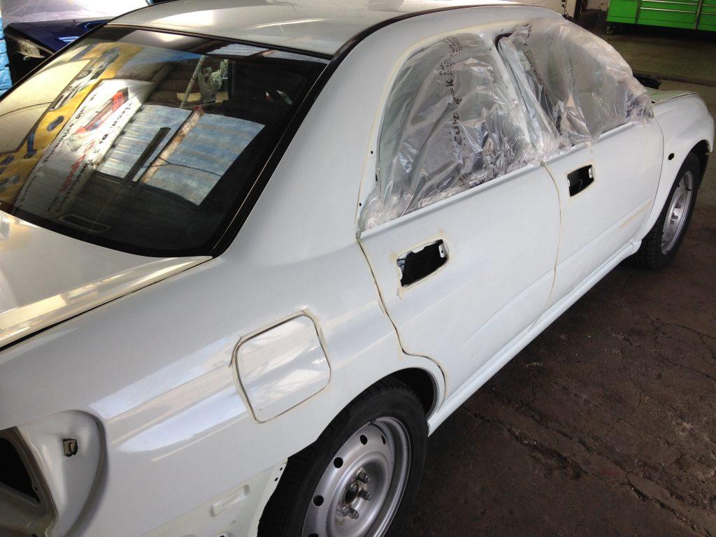 Subaru spec c paint restoration