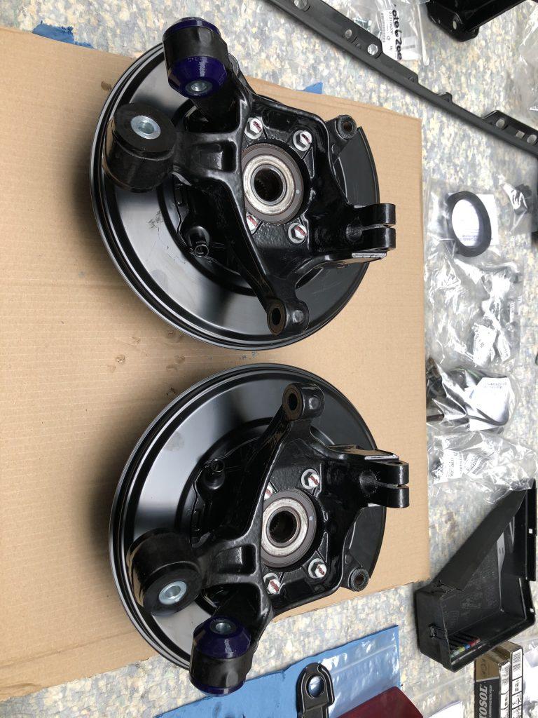 Subaru restoration