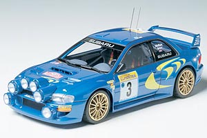 Car and Custom Garage 24199 SUBARU IMPREZA WRC