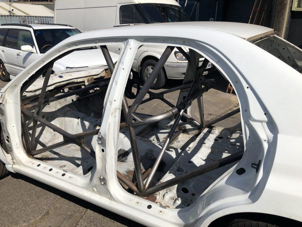 Subaru spec c full body shell preparation