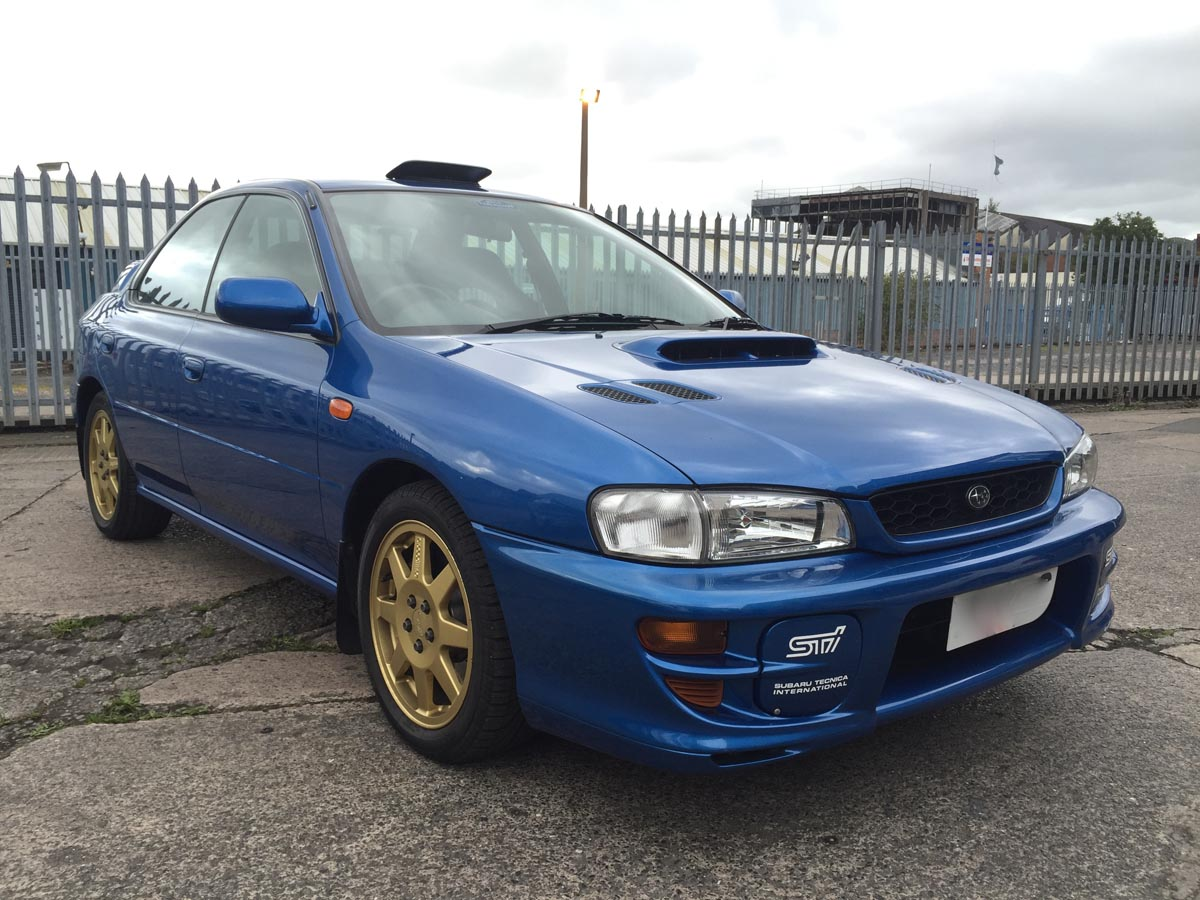 Image of Car and Custom Garage 1998 Subaru Impreza Wrx Type RA 555