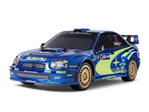 1/10 R/C Subaru Impreza Mexico 2004 (TT-01 Type-E) Item No: 47372